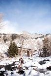 Brinton Studios | Snowy Engagement Shoot