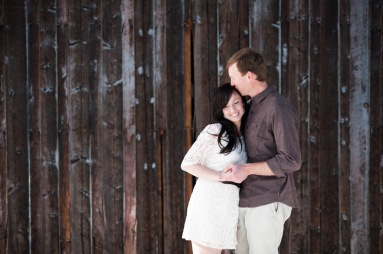 Brinton Studios | Snowy Engagement Shoot