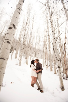 Vail engagement shoot