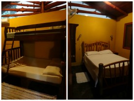 Bedrooms of Casa Astrid.