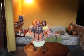 Chilling at Casa Astrid.