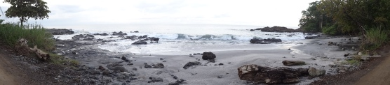 One of the beaches on the way back to Cabuya from Montezuma.