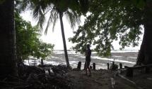 Low tide at Casa Astrid. Rocky beach!