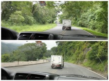 Yep, typical driving in Costa Rica.