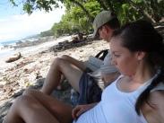 Chilling on Playa Montezuma.