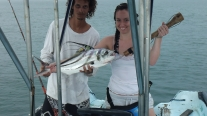 Our rooster fish. Jose was very proud of this catch!
