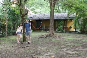 Backyard of Casa Astrid.