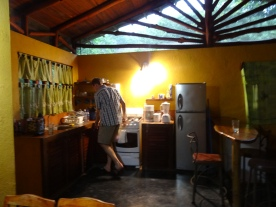 Kitchen of Casa Astrid.