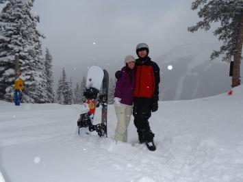 Taos snowboarding