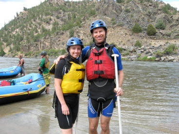 Browns Canyon rafting