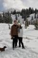 Molas Pass snow shoe hike
