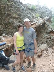 El Rito rock climbing