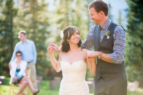Miranda + Bryce | V3 Ranch Breckenridge Woodland Wedding