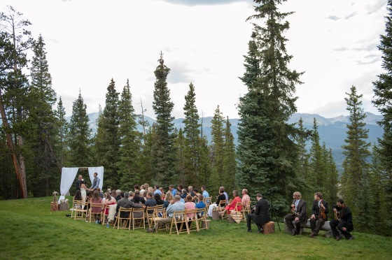Our small Colorado destination wedding. Less than 50 of our closest friends and family.