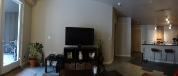 Our apartment all filled up!