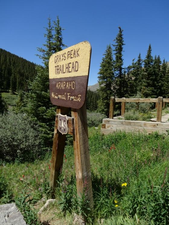Grays Peak Trailhead