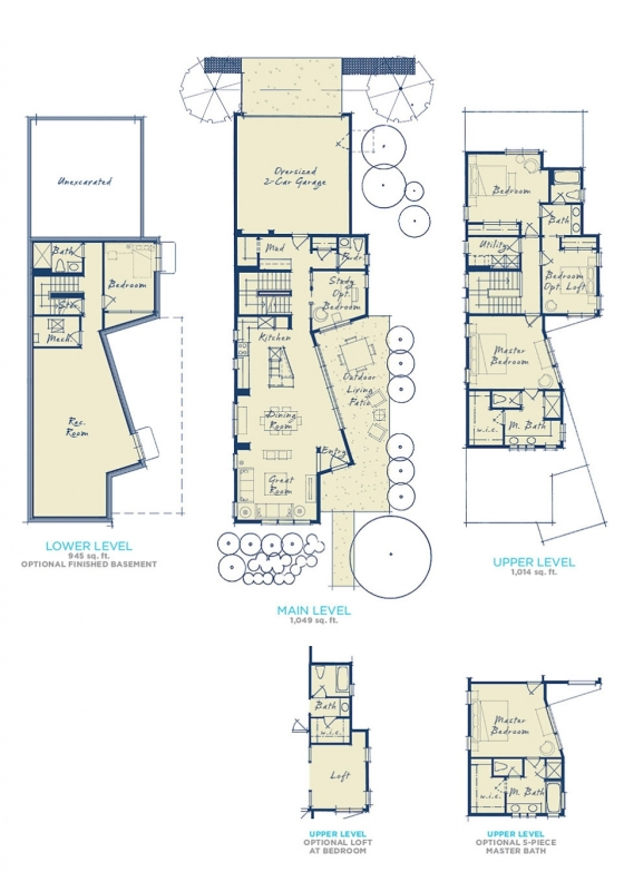 The layout with choose with Brookfield Residential.