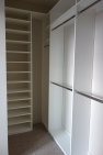 Master Bedroom Closet off the Bathroom