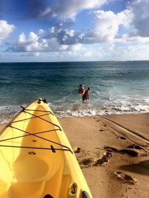 napali coast kayak launch