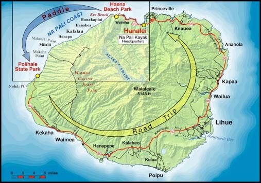 napali-kayak-map