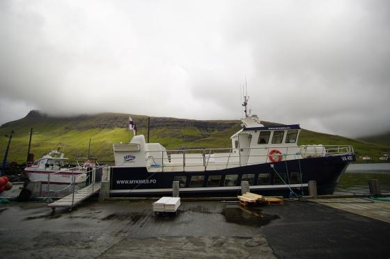 faroe island mykines ferry