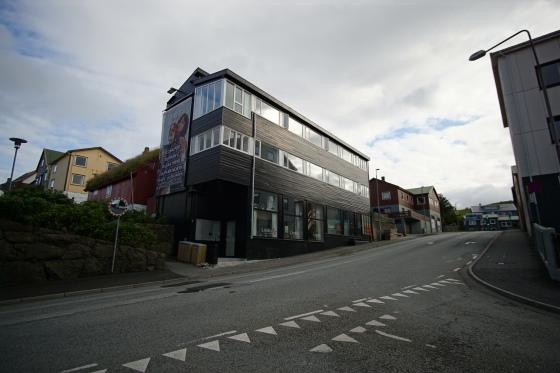 faroe island torshavn airbnb building