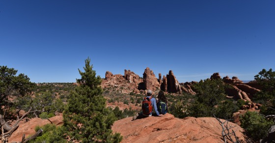 arches national park views