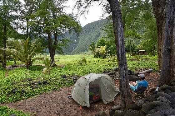 Muliwai Trail Backpacking Waimanu Valley Waipi'o Valley