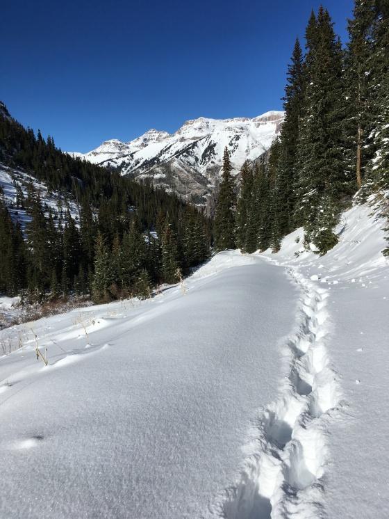 bridal veil falls trail 1