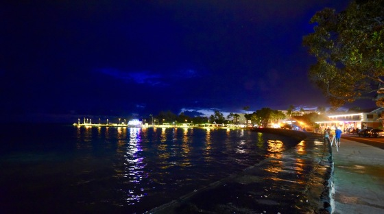 kailua bay nighttime