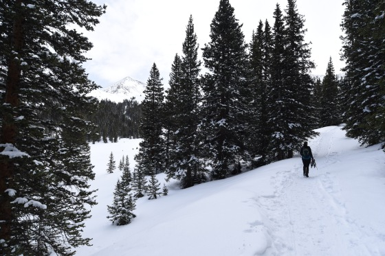 mayflower gulch hike 2