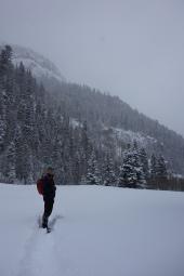 telluride december 2016 snow hike