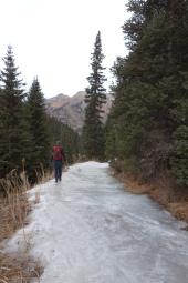 telluride december 2017 icey hike