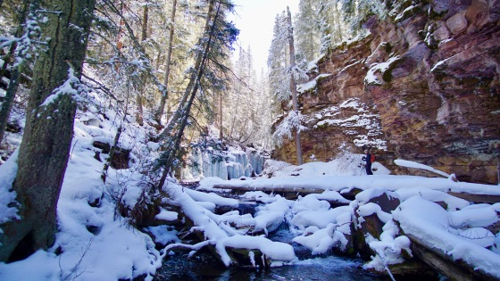 telluride icy falls hike