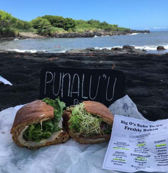 Volcano Village BIg O Subs Hawaii