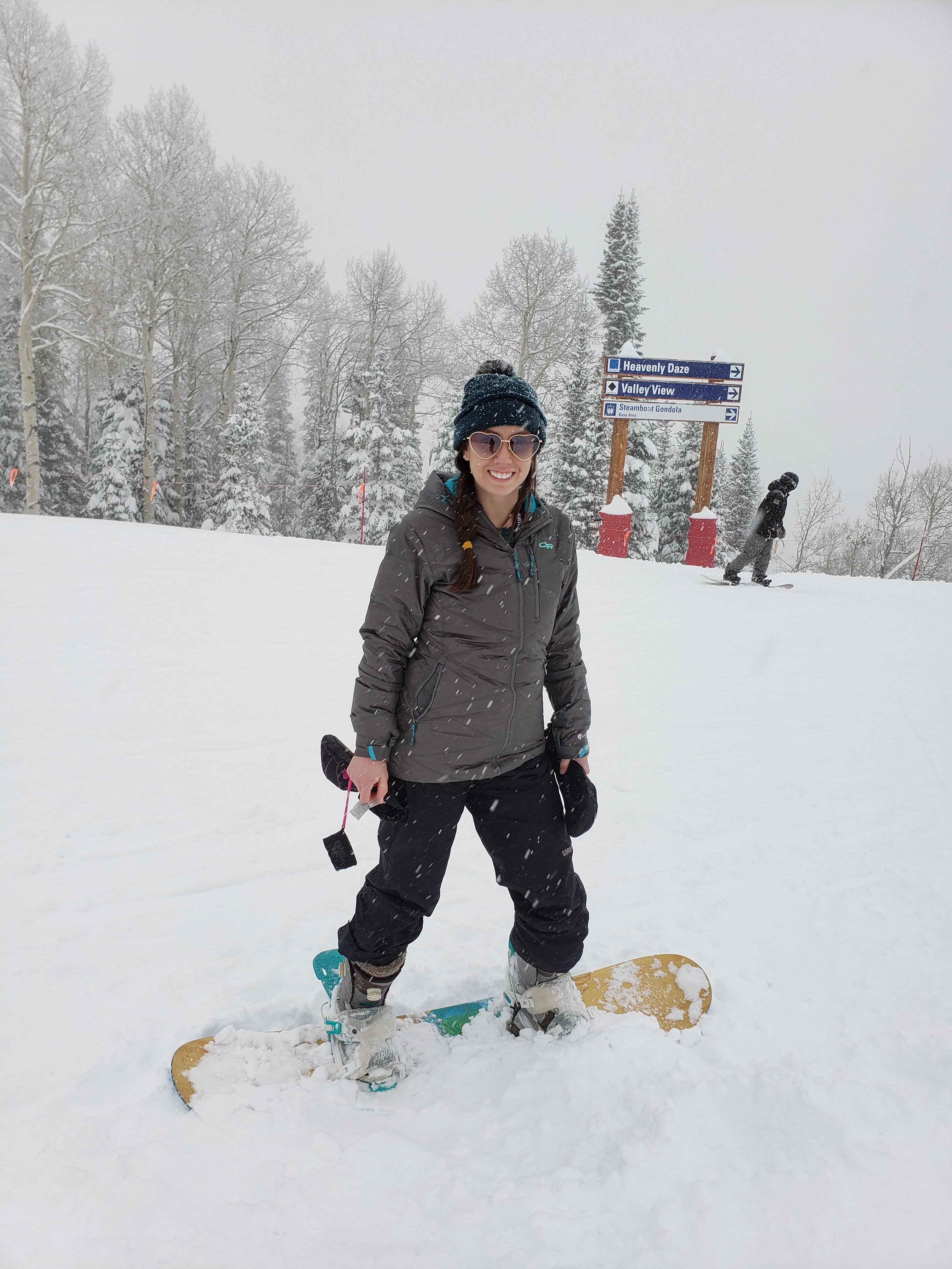 Em Birthday 2019 - Steamboat Snowboarding 1