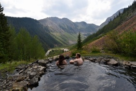 Colorado hot spring