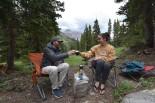Imogene Pass camping