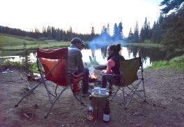Lone Lick Lakes camping